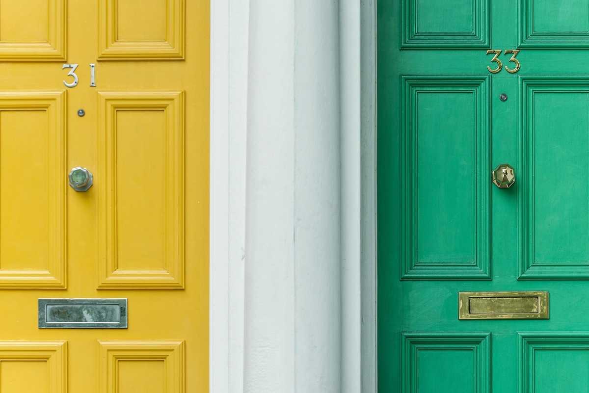 S-Cover - Pigmented door