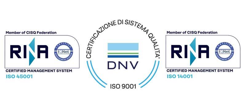 Certificazioni Sirca